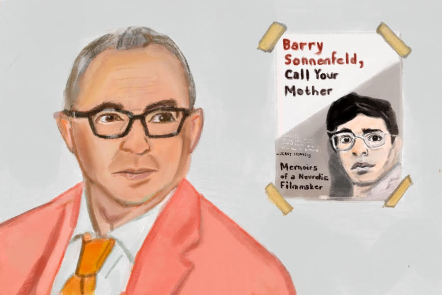 """""""I recently found some diaries when I was cleaning out a box, but I never refer to any diary. I just have a really good memory."""" - Barry Sonnenfeld"""