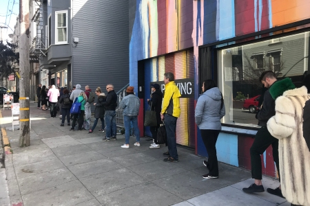 coronavirus lines cannabis dispensary