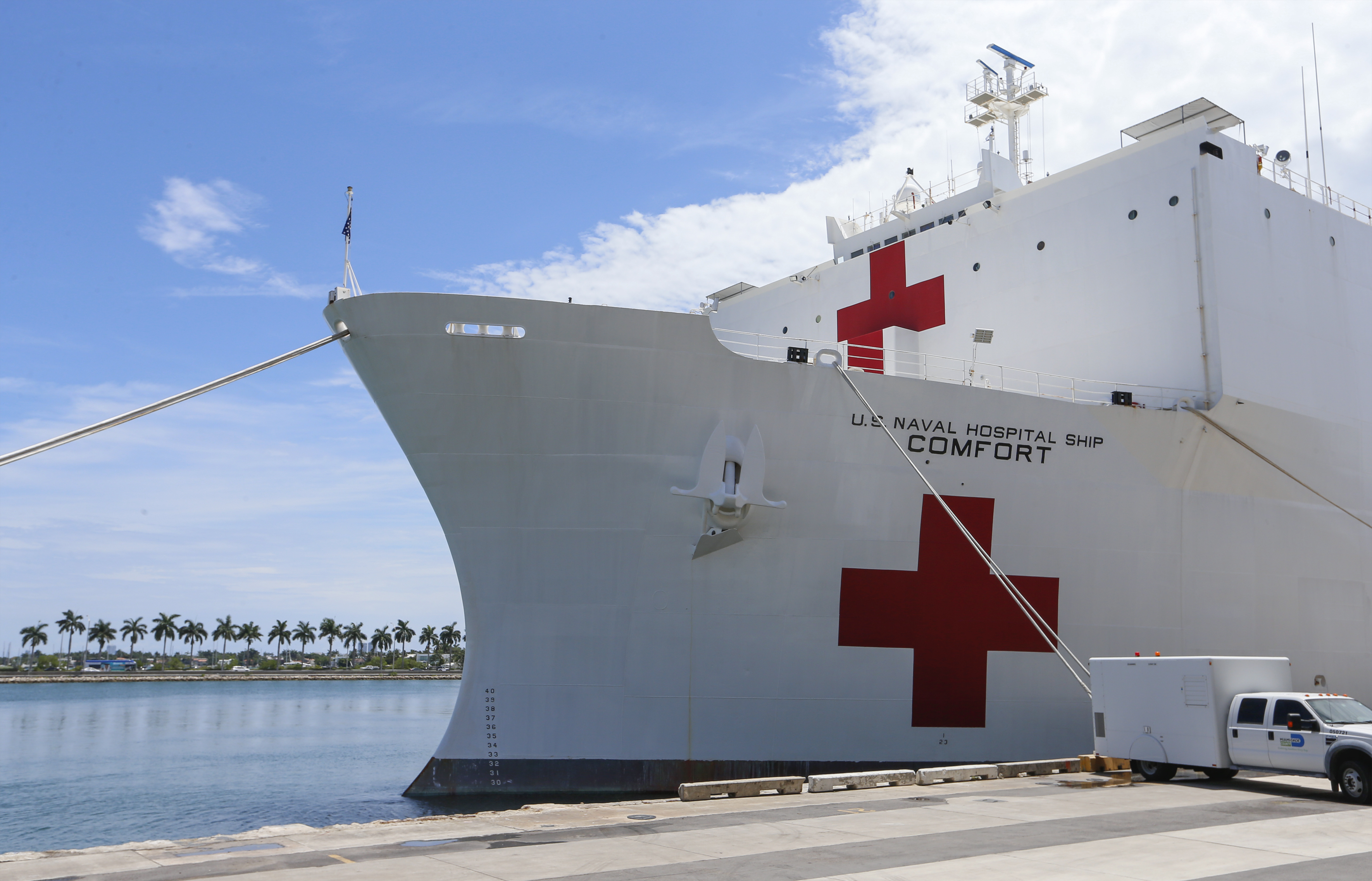 A Navy Hospital Ship Is Coming To New York To Free Up Hospital