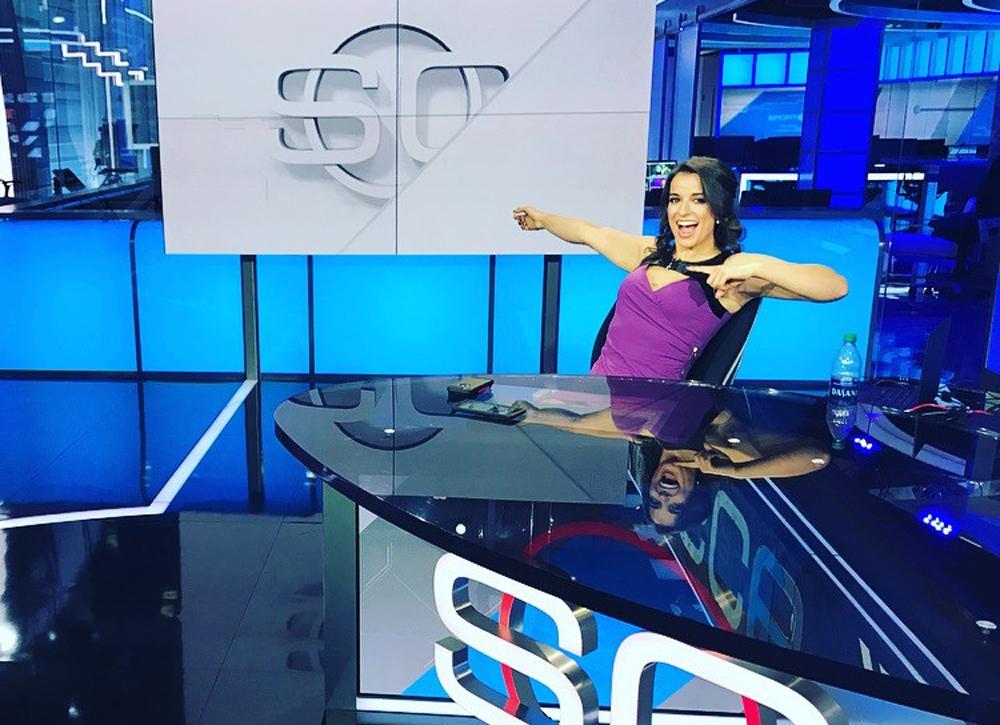 Victoria Arlen on ESPN