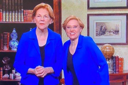 Elizabeth Warrens on SNL