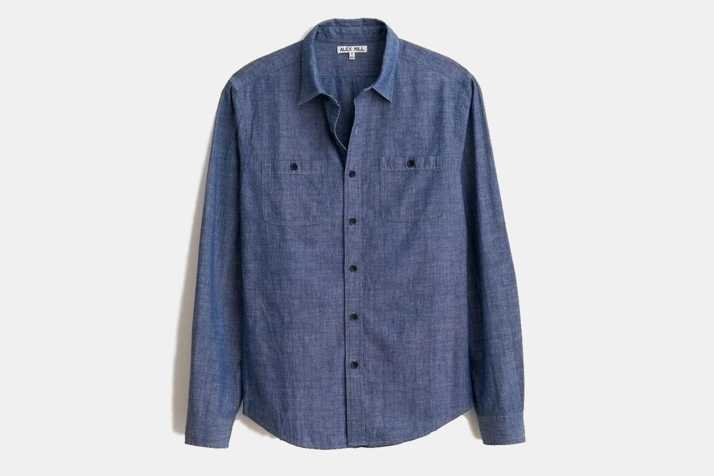 Alex Mill Chambray Chore Shirt