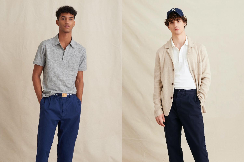 Alex Mill menswear upscale basics