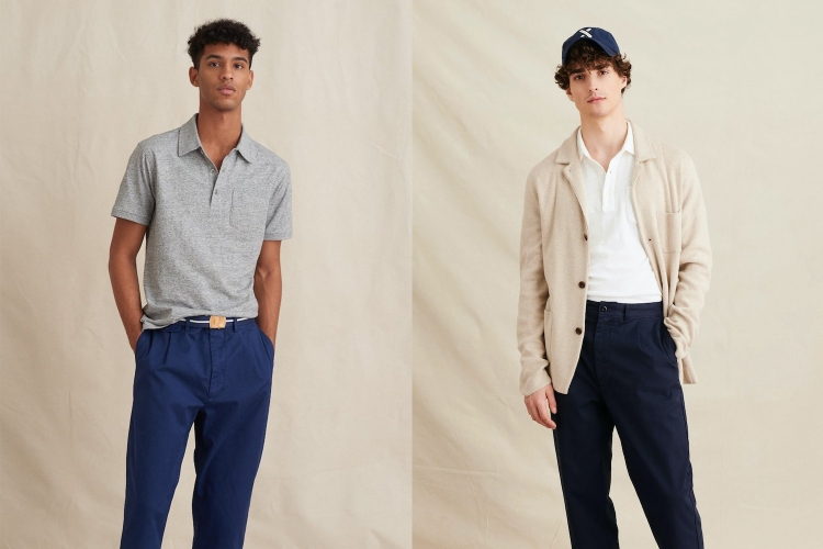 Alex Mill menswear upscale basics