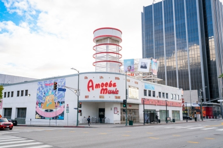 Amoeba Music Record Store in Hollywood