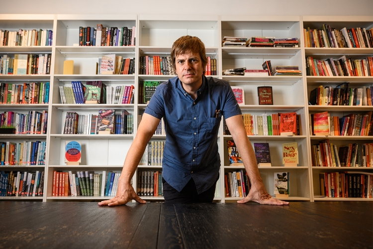 Andy Hunter, CEO of online bookstore Bookshop