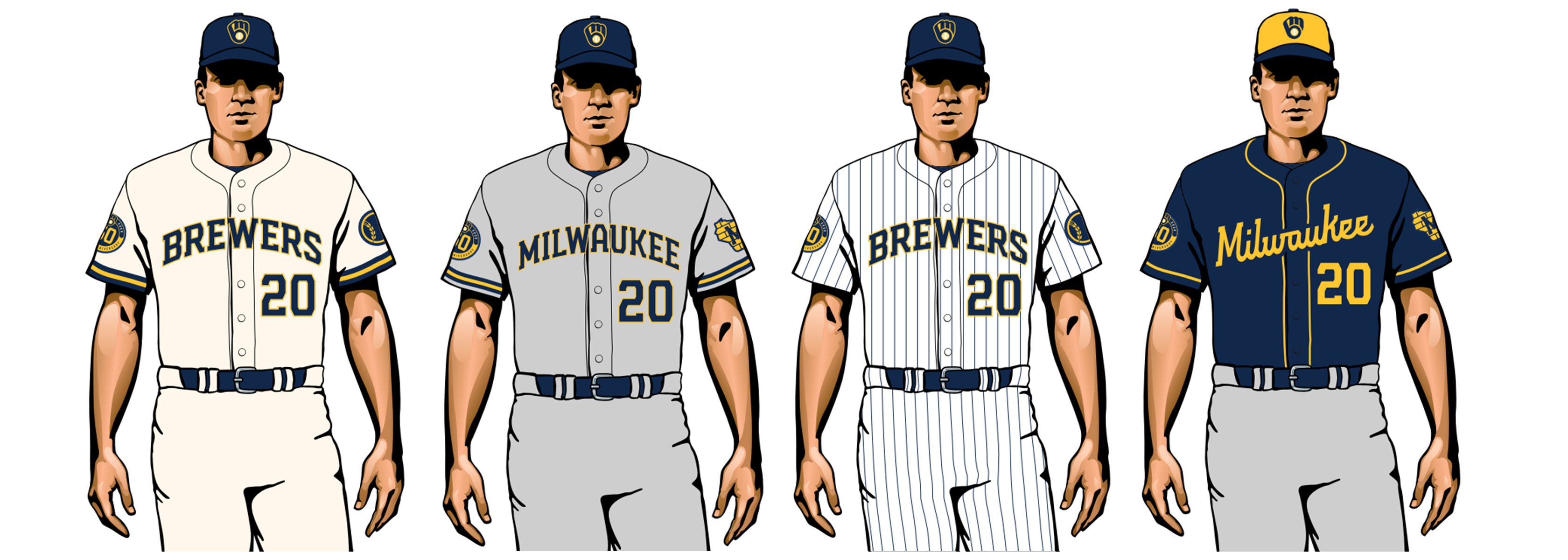 milwaukee brewers 2020 uniforms