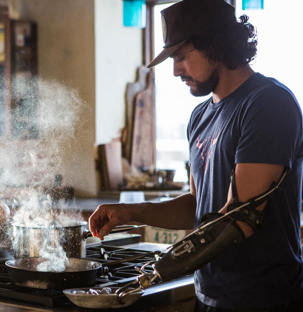 "How Eduardo ""The Bionic Chef"" Garcia Earned His Nickname"