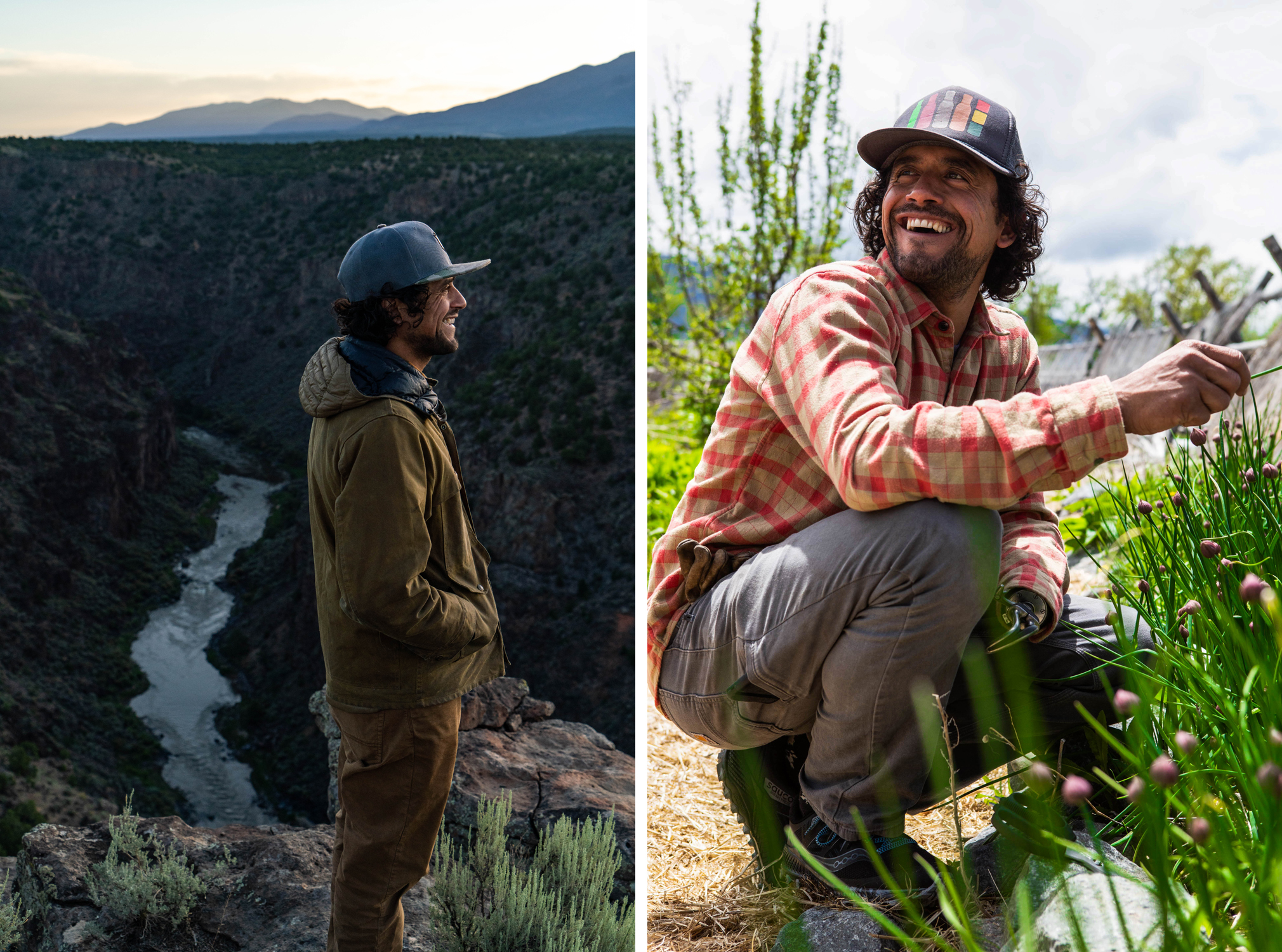 Eduardo Garcia enjoying fresh air in Montana and New Mexico