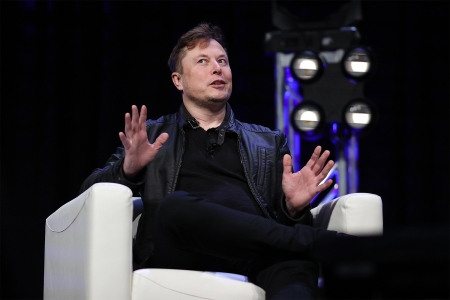Elon Musk, founder of SpaceX and Tesla
