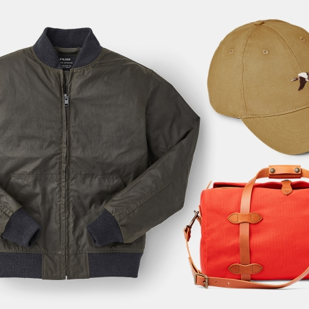 Filson spring sale on jackets, hats, bags and more