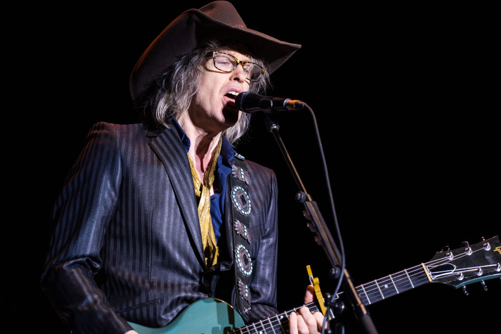 Mike Scott of The Waterboys performs at Rewind South on August 18, 2019 in Henley-on-Thames, England. (Photo by Lorne Thomson/Redferns)