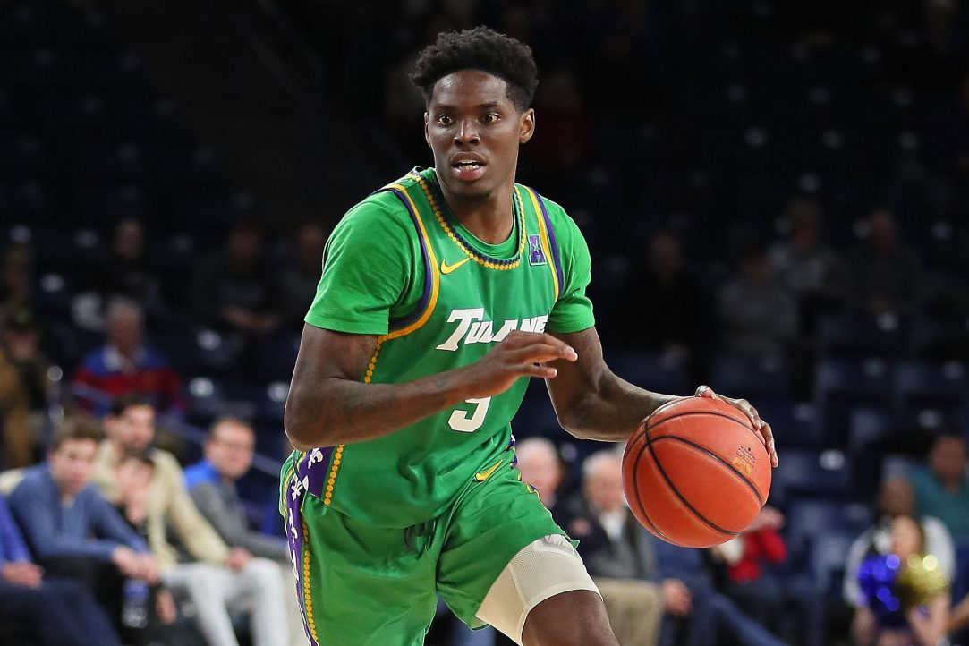 Former Tulane Green Wave Guard Teshaun Hightower. (David Stacy/Icon Sportswire via Getty)