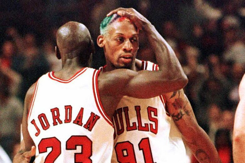 """Episode 3 of """"The Last Dance"""" revealed Jordan had to retrieve Rodman from bed."""