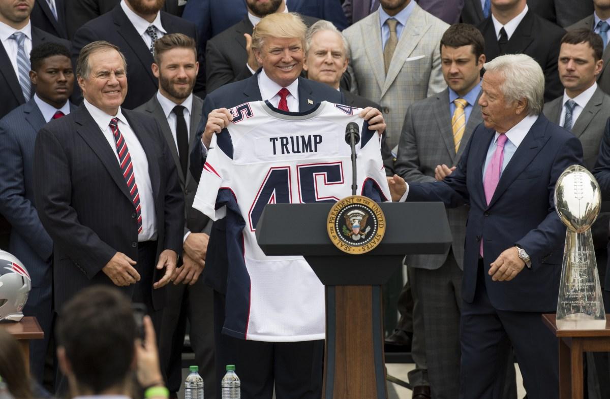 Trump NFL coronavirus