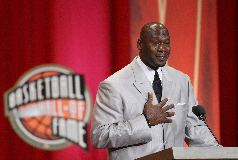 Crying Michael Jordan