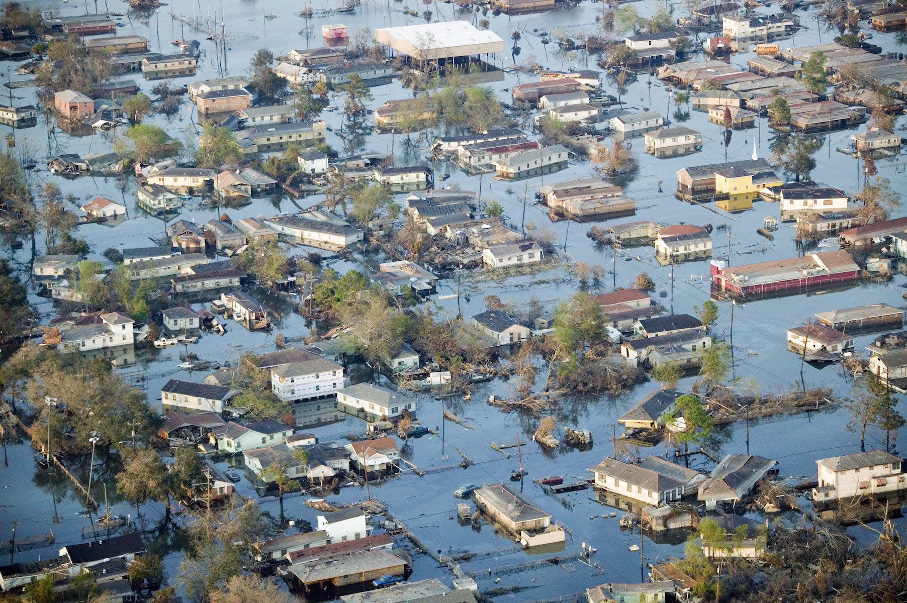 Hurricane Katrina Aftermath - Aerials