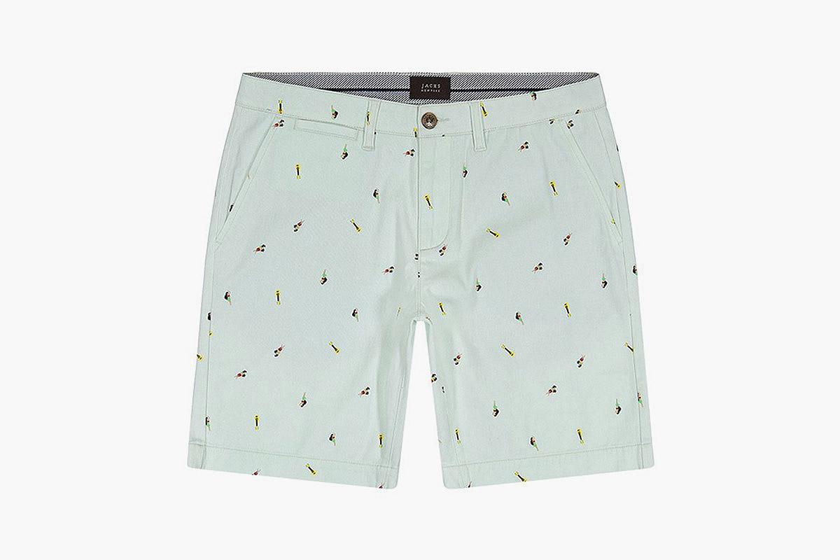 Jachs Mint Hula Shorts