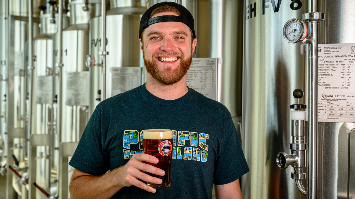 Kyle Matthias, assistant brewmaster at Deschutes