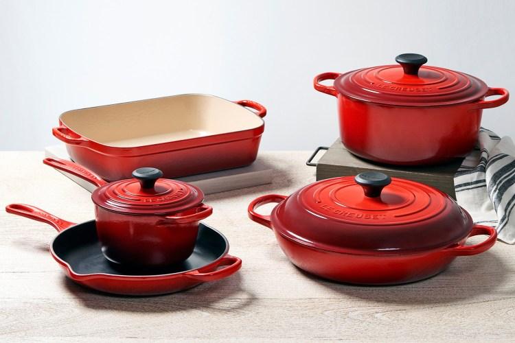 Le Creuset cookware set