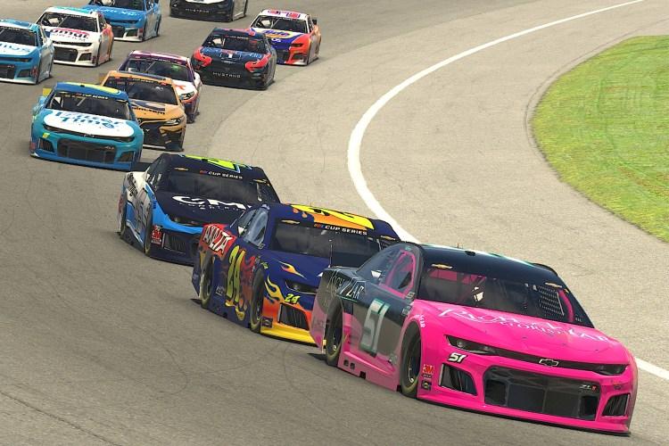NASCAR professional esports race