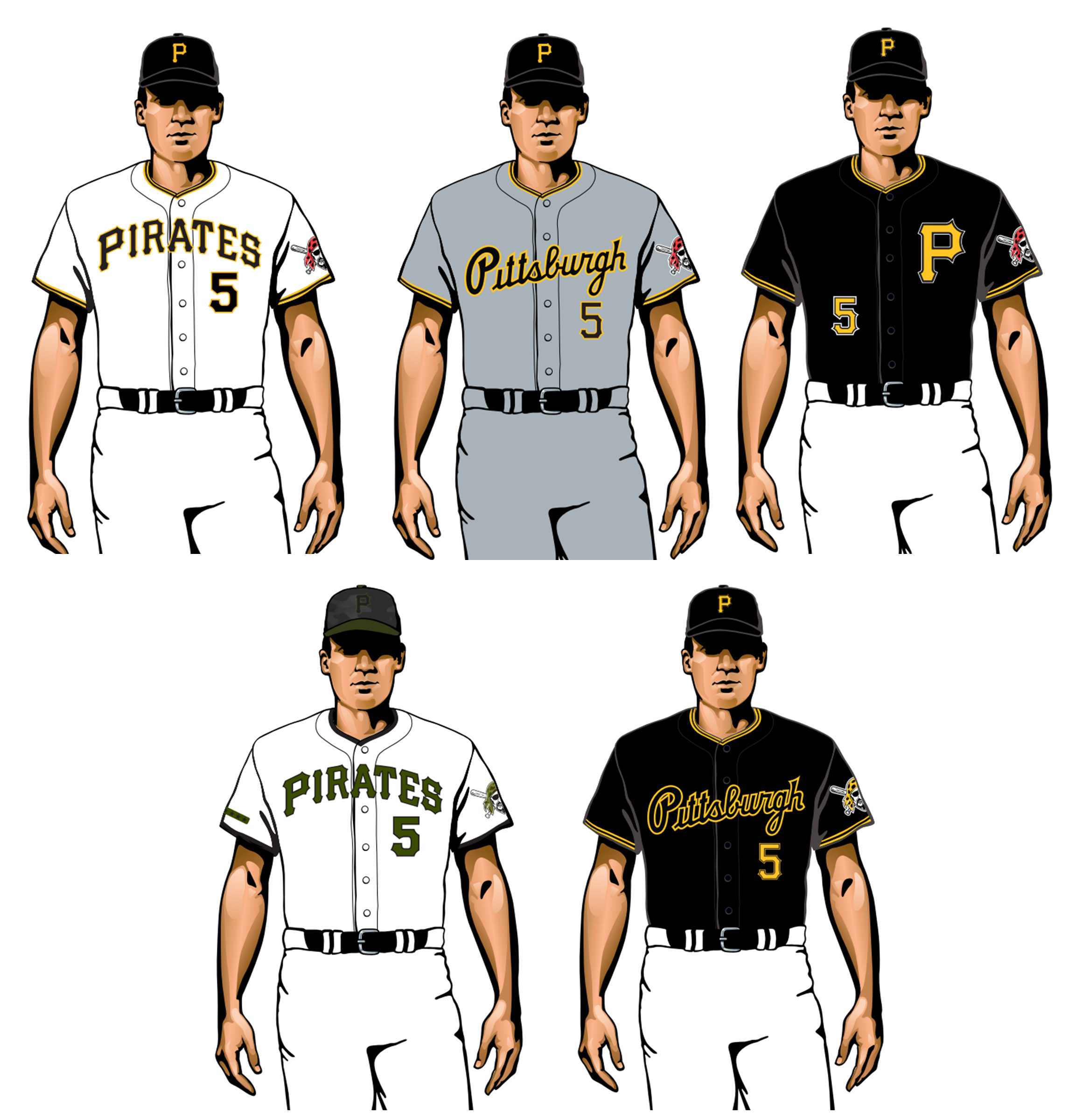 pittsburgh pirates 2020 uniforms