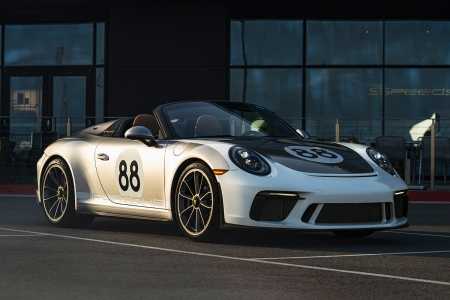 You could be the owner of the last Porsche 991 Speedster.