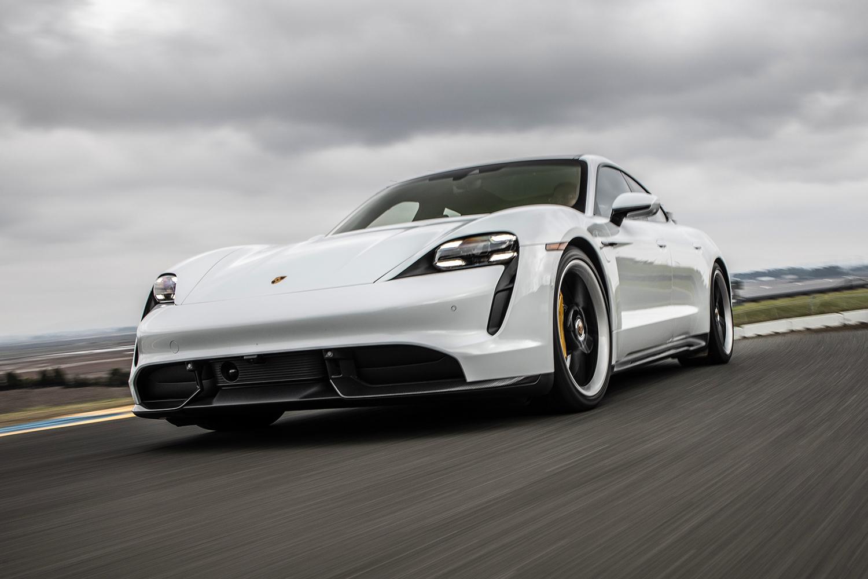 The 2020 Porsche Taycan Turbo S.
