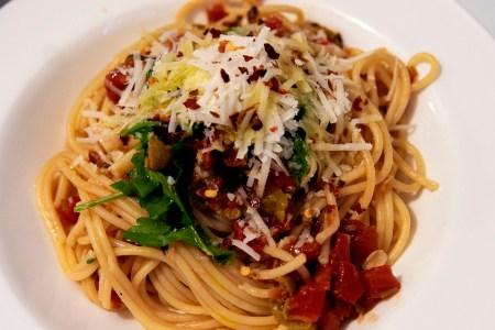 spaghetti alla puttanesca quarantine recipe