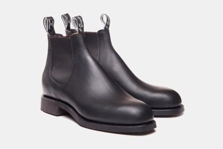 R.M. Williams Gardener Chelsea Boots in black