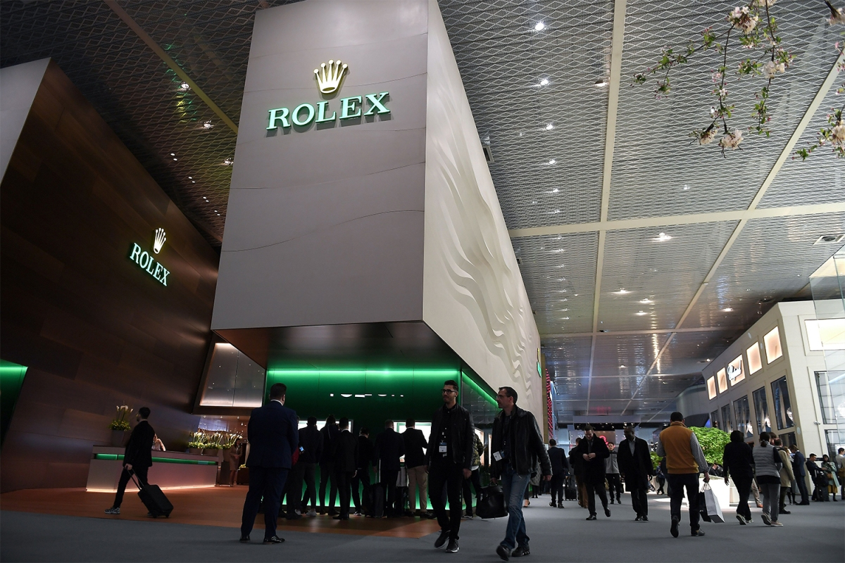 Swiss watchmaker Rolex exhibiting at Baselworld 2018