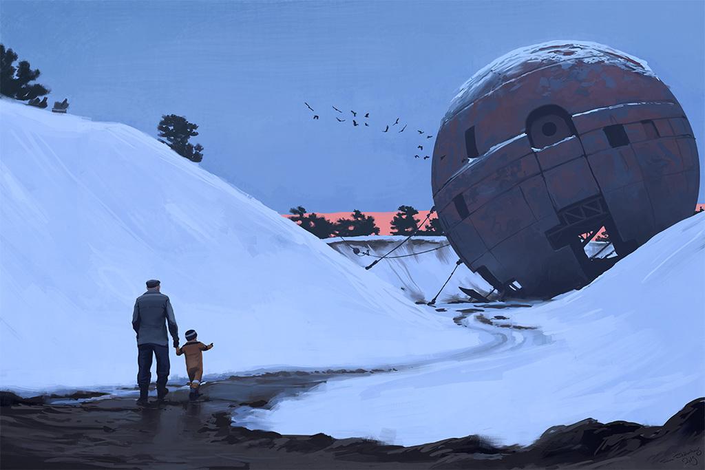 Simon Stålenhag artwork