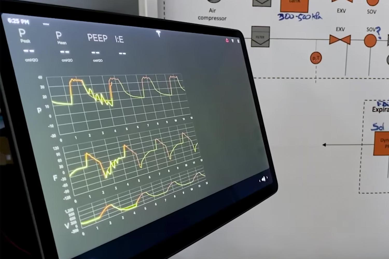 Tesla ventilator prototype
