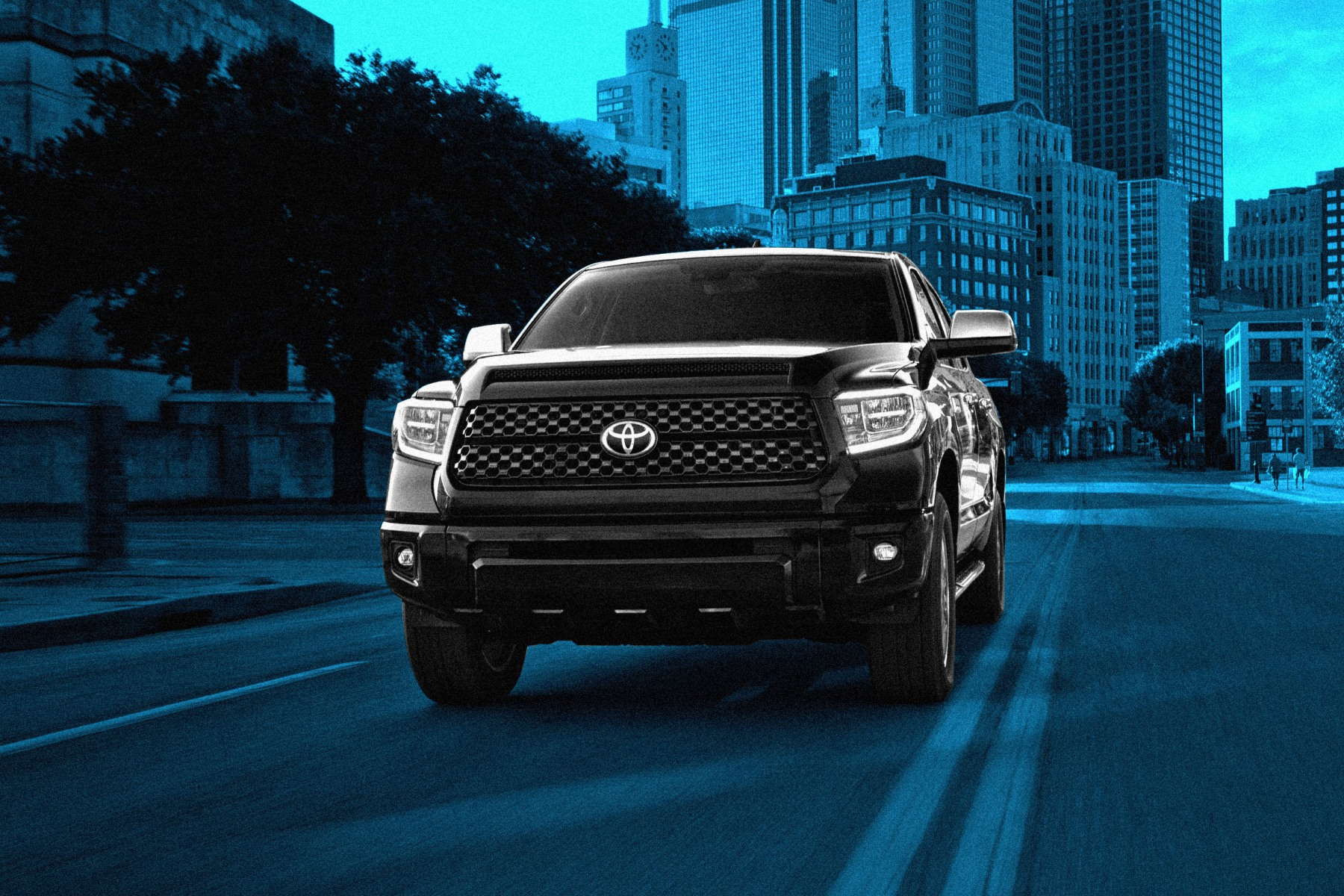 Does the Toyota Tundra work in the big city?
