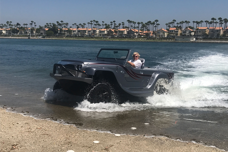 WaterCar Panther amphibious vehicles