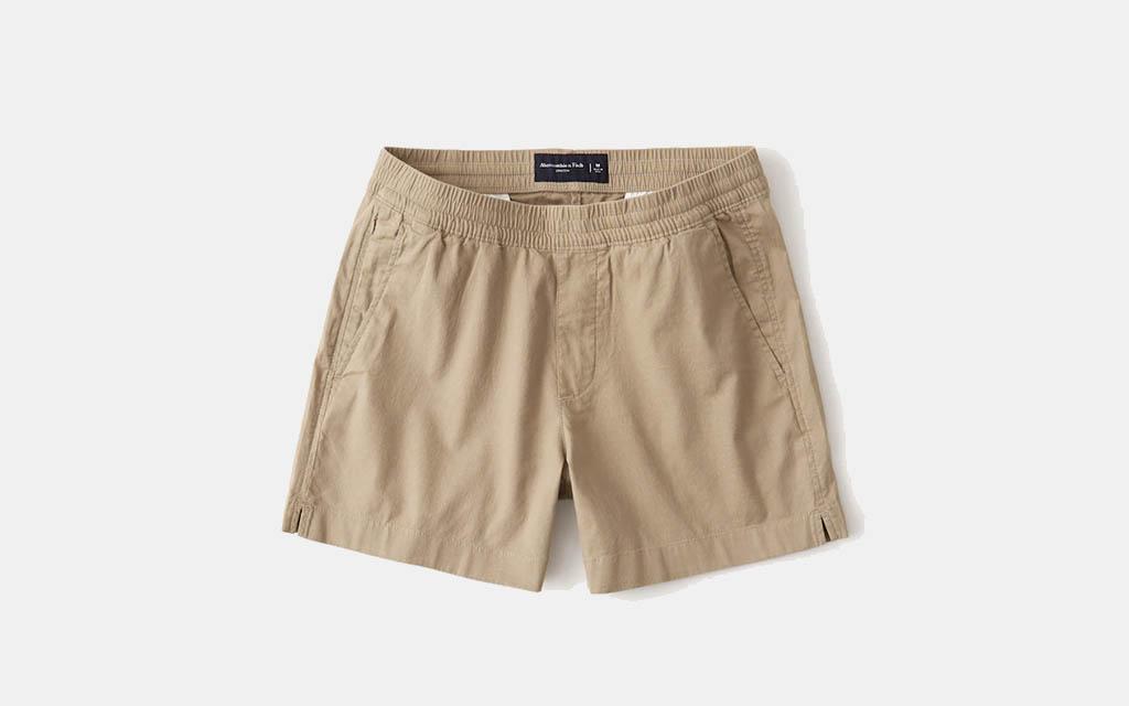 Abercrombie Linen-Blend Pull-On Shorts