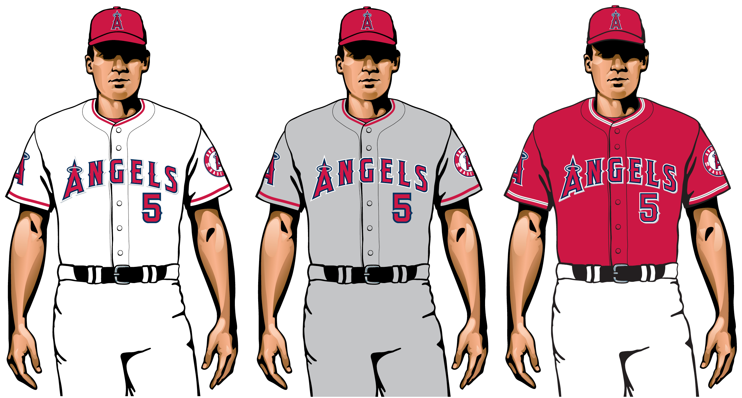 angels 2020 uniforms