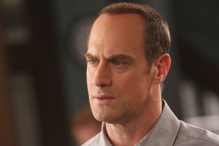 """Christopher Meloni as Detective Elliot Stabler on """"Law and Order: SVU"""""""