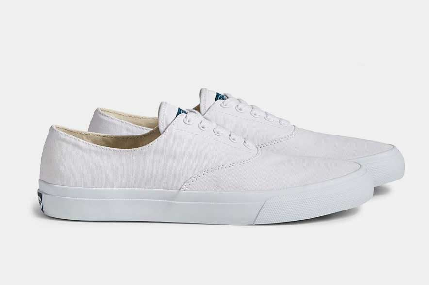 sperry cloud cvo deck shoe white