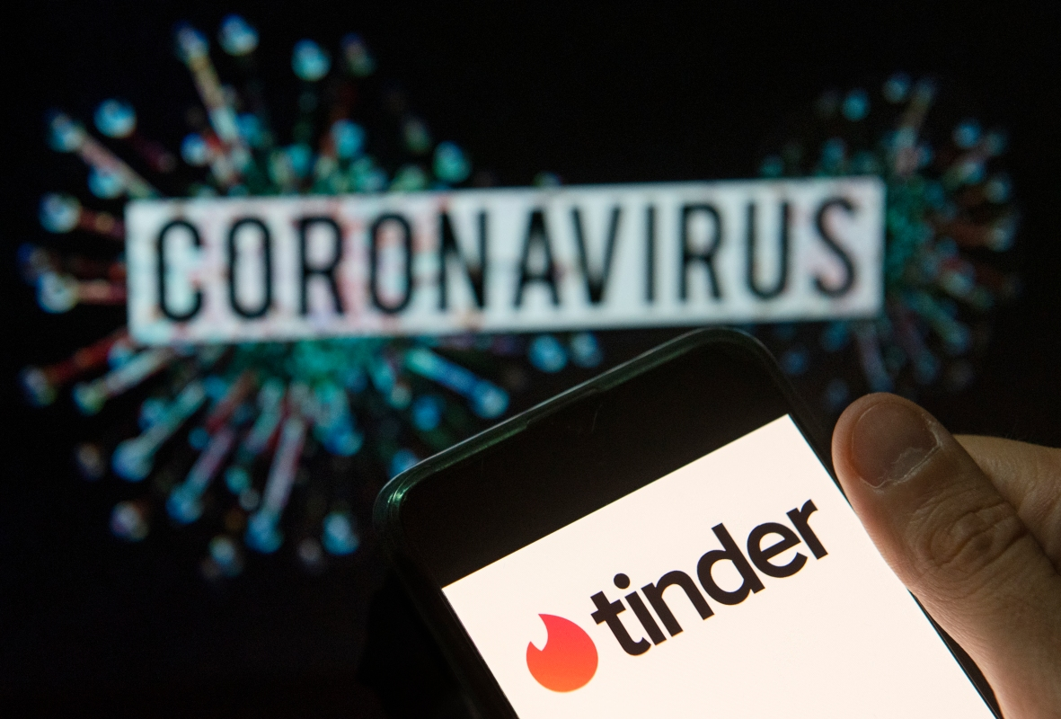 dating apps coronavirus