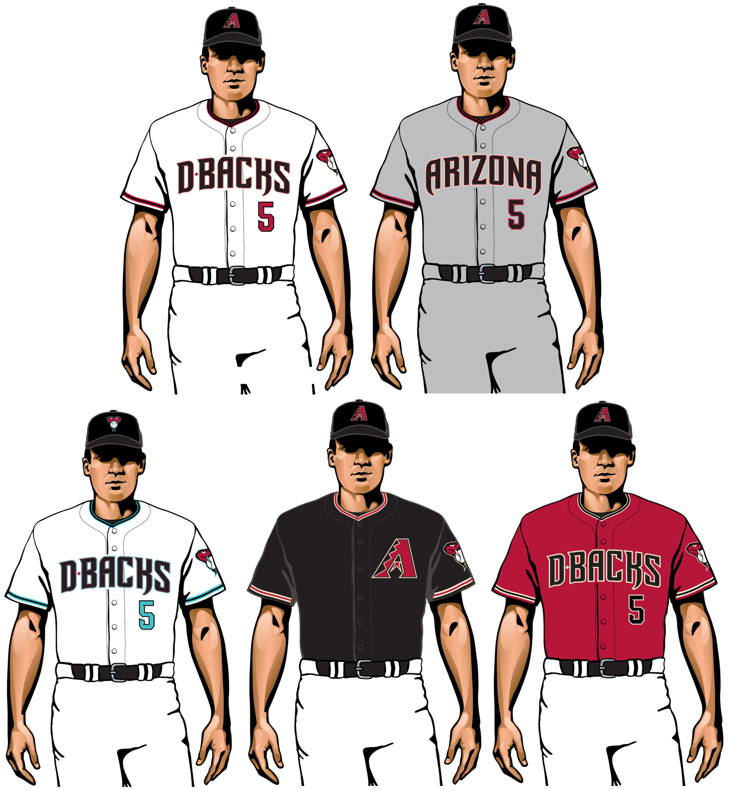 arizona diamondbacks 2020 uniforms