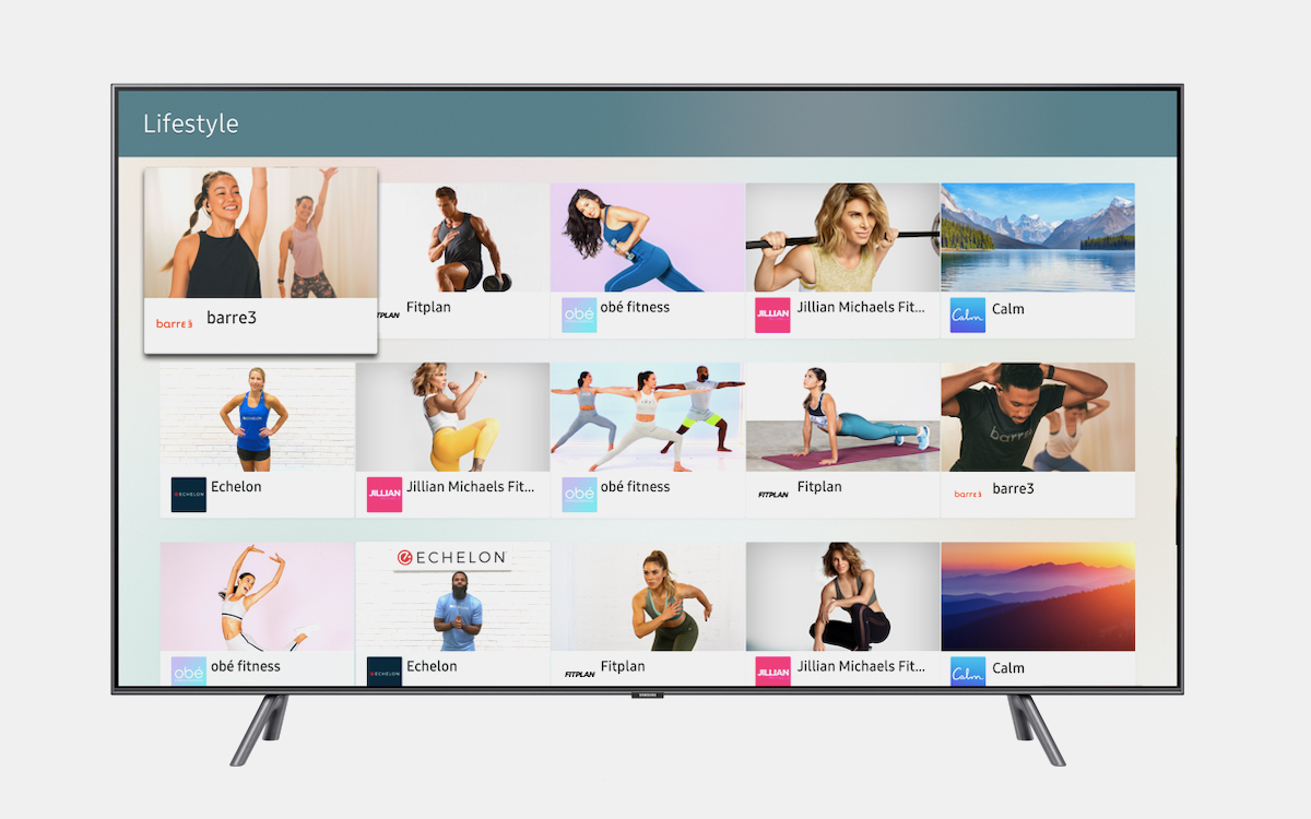 Samsung Smart TV Owners Can Now Access 5,000 Hours of Free Wellness Content