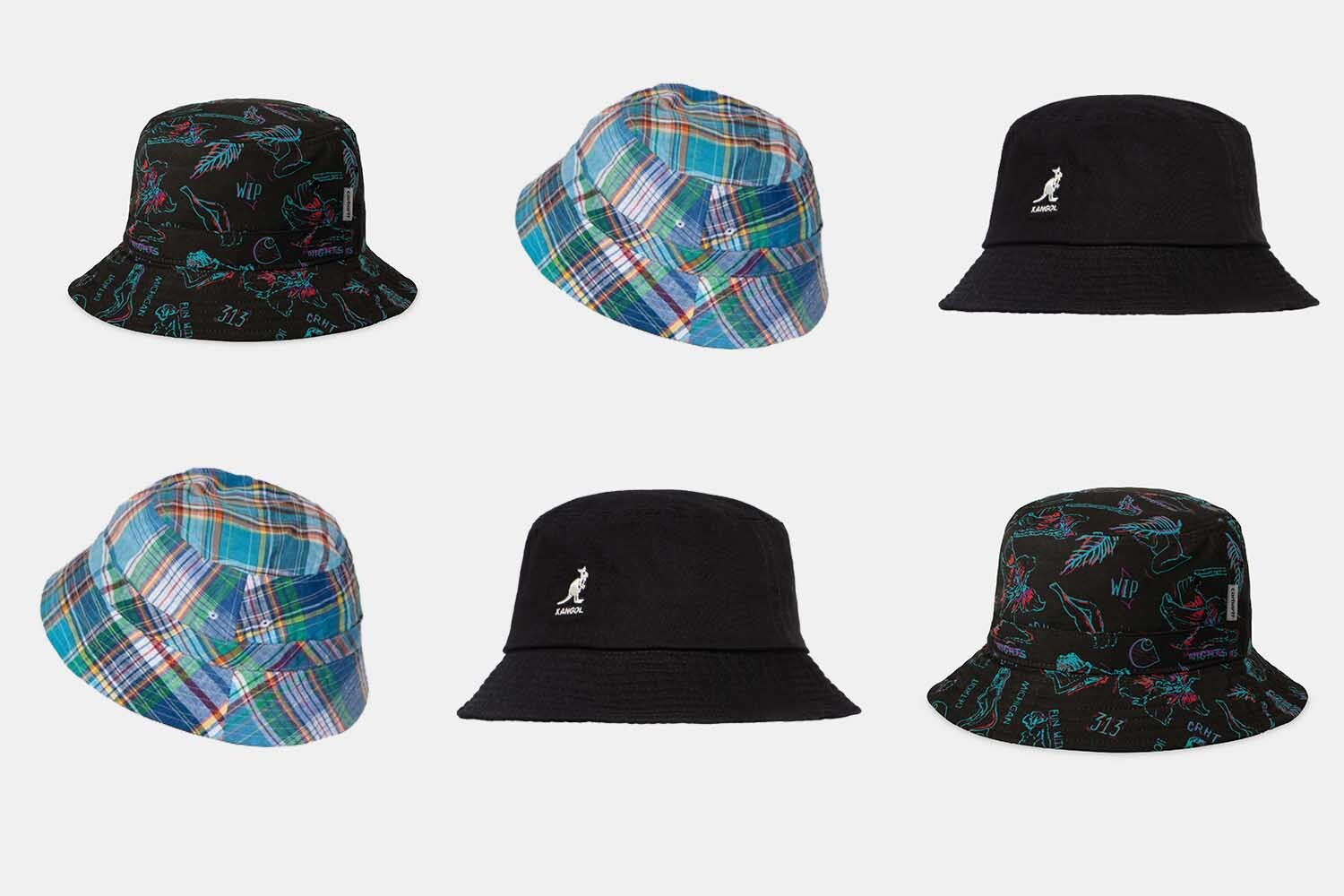 If you're ever going to try out bucket hats, there's no better time than now.