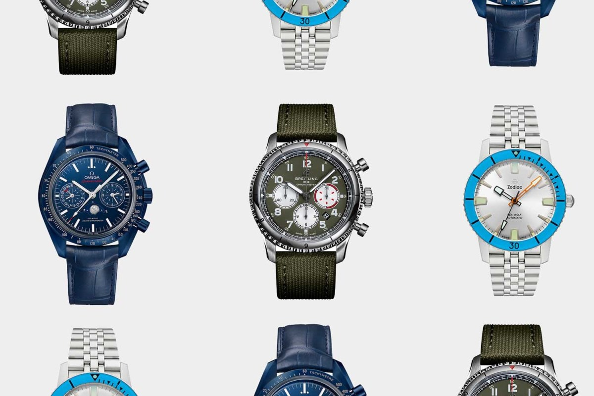 colorful spring watches