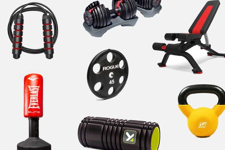 essential home gym items