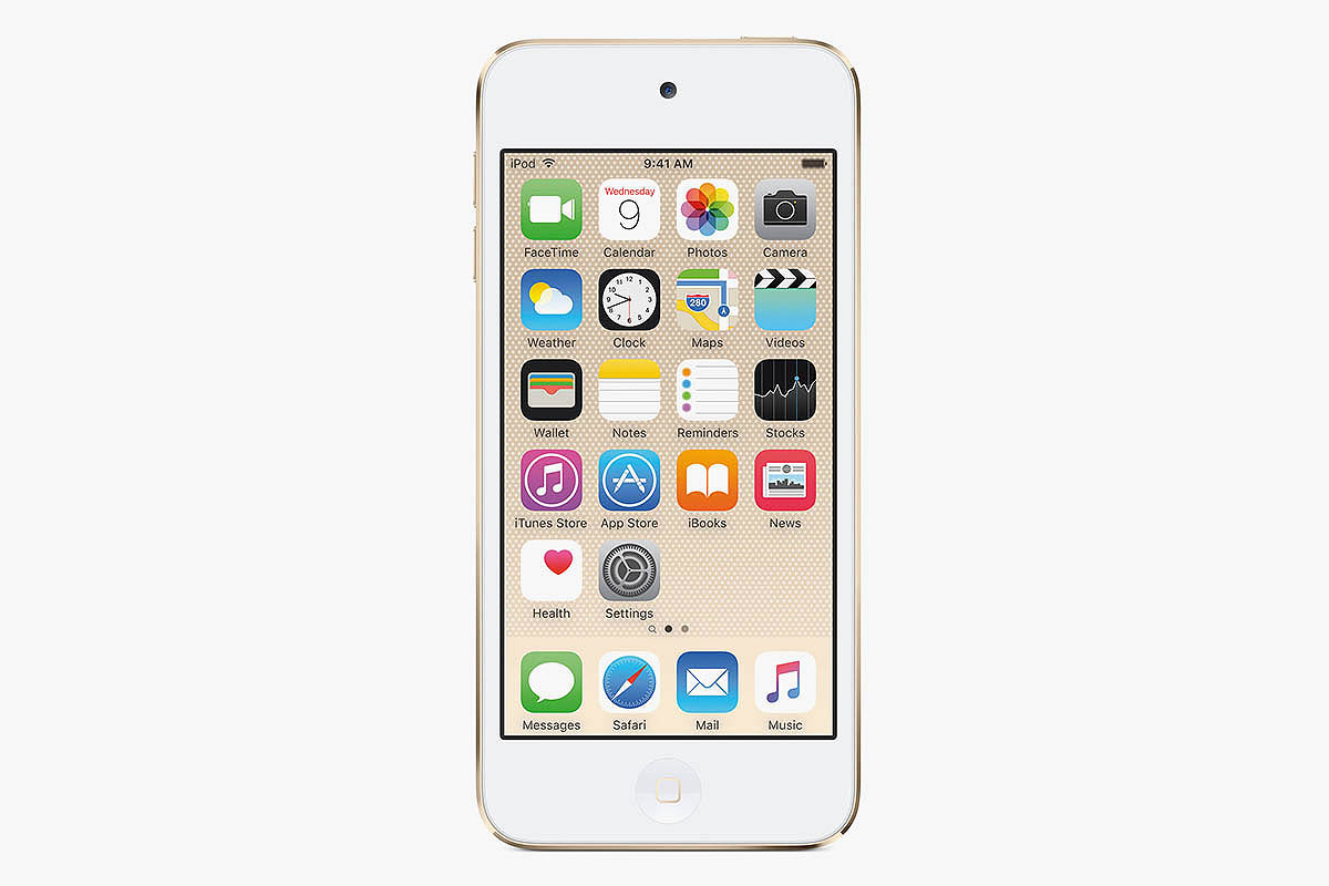 iPod Touch in Gold
