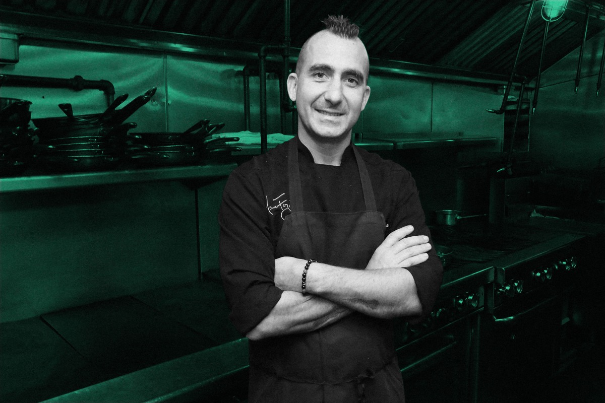 Chef Marc Forgione in 2017 in New York City. (Astrid Stawiarz/Getty Images for NYCWFF)
