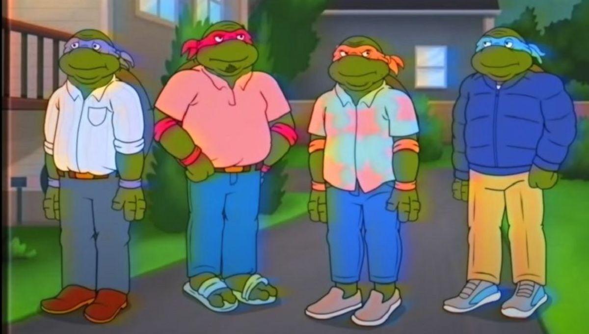 """""""Middle-Aged Mutant Ninja Turtles"""""""