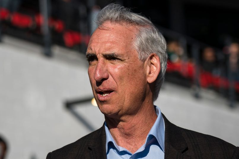 Oliver Luck is suing McMahon for wrongful termination