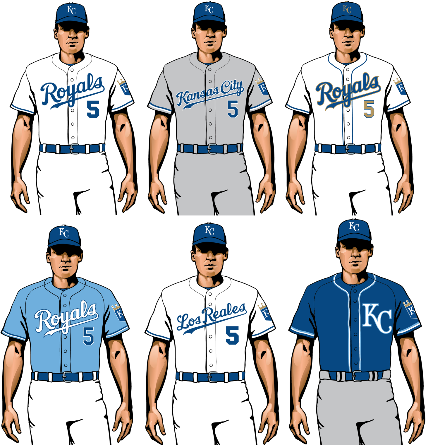 kansas city royals 2020 uniforms